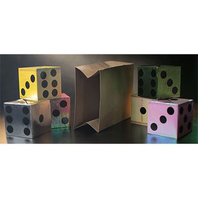 Appearing Dice from Empty Bag by Tora Magic- Trick