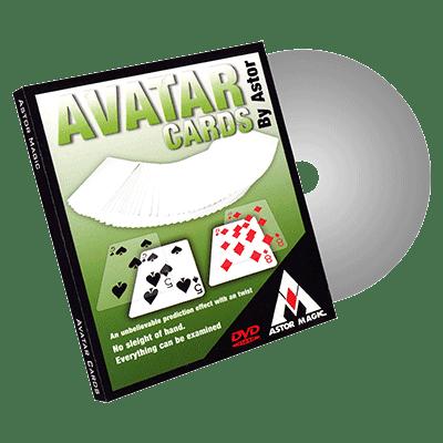 Avatar Cards (Blue) by Astor