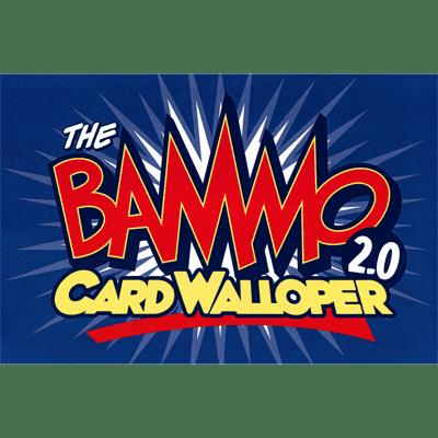 Bammo Card Walloper 2.0 (With Deck) by Bob Farmer - Trick