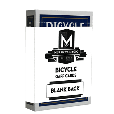 Blank Back Bicycle Cards (box color varies)