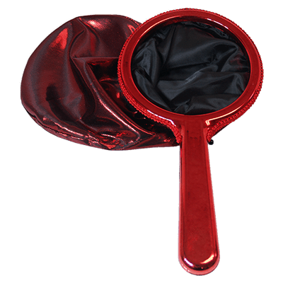 Change Bag Chrome Handle (Red) by Bazar de Magia - Trick