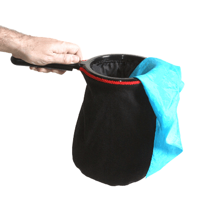 Change Bag Standard (Black) by Bazar de Magia - Trick