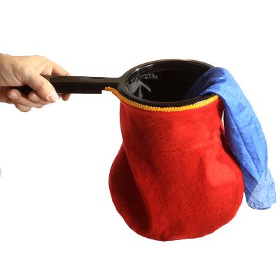 Change Bag Standard (Red) by Bazar de Magia - Trick