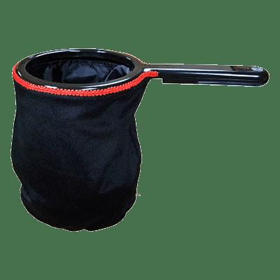 Change Bag Velvet with Zipper (Black) by Bazar de Magia - Trick
