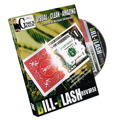 Bill Flash Reverse (Red) by Mickael Chatelain - Trick