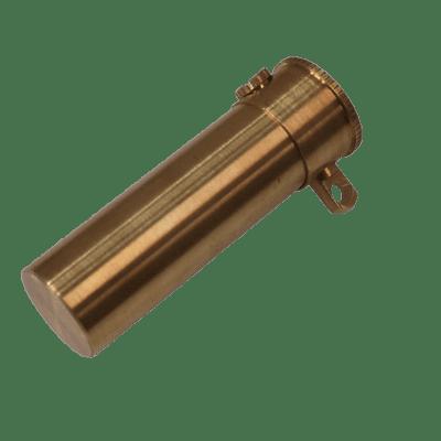 Pro Bill Tube (Brass) by Premium Magic - Trick