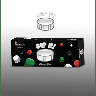 CAP IT (White) by Twister Magic - Trick