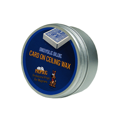 Card on Ceiling Wax 30g (blue) by David Bonsall and PropDog - Trick