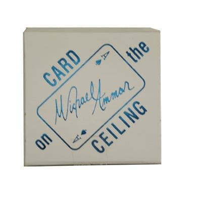 Card on Ceiling (Box) by Michael Ammar - Trick