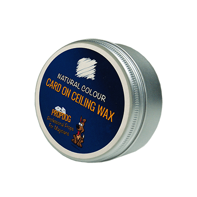 Card on Ceiling Wax 30g (Natural) by David Bonsall and PropDog - Trick