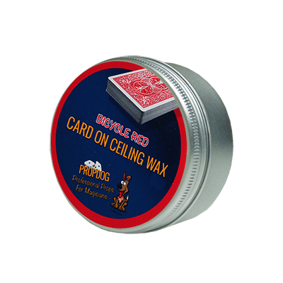 Card on Ceiling Wax 15g (red) by David Bonsall and PropDog - Trick