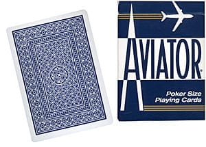 Cards Aviator Poker size (Blue)