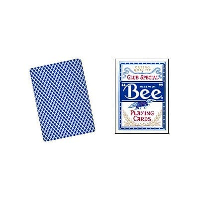 Cards Bee Poker size (Blue)
