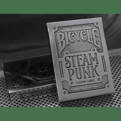 Bicycle Silver Steampunk Deck by USPCC