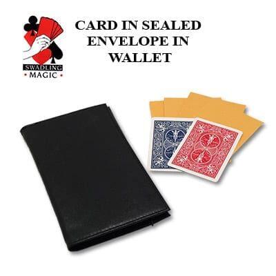 Card In Sealed Envelope in Wallet by Robert Swadling - Trick