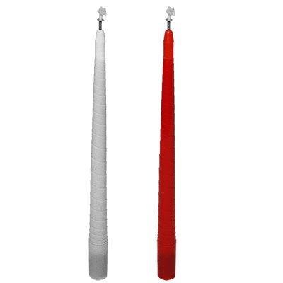 Color Changing and Vanishing Candles (White to Red) - Trick