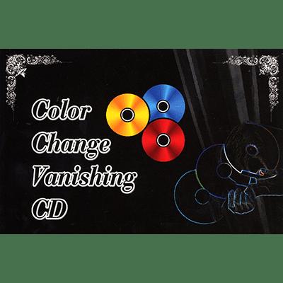 Color Changing / Vanishing CD by JL Magic - Trick