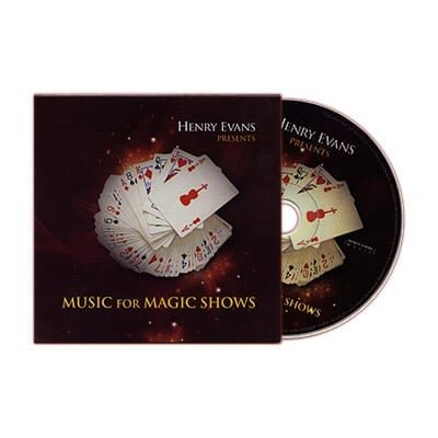 Music for Magic Shows by Henry Evans - DVD