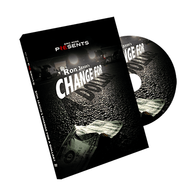 Change for a Dollar (DVD & Gimmick) by  Ron Jaxon & Eric Ross  - Trick