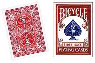 Cheek to Cheek Deck Bicycle (Red)