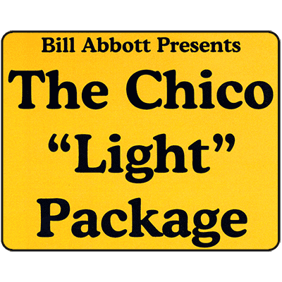 "Chico Routine ""Light"" Package Deluxe Routine, Script & DVD'sCD & Poster by Bill Abbott - Trick"