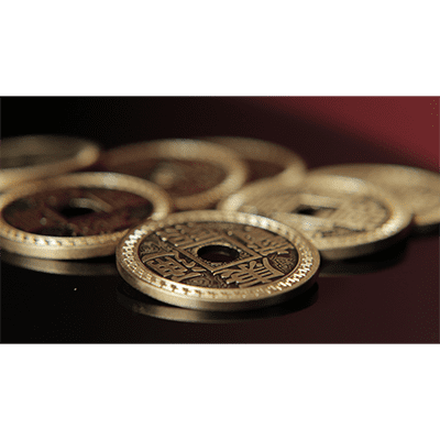 Chinese Coin Set dollar (with DVD) - Trick