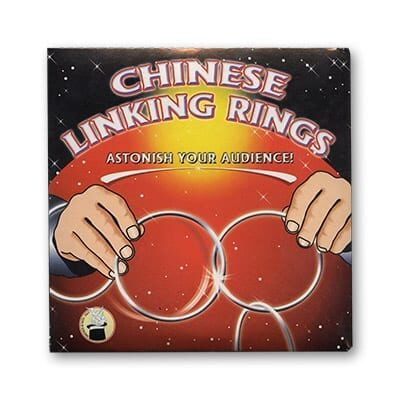 Chinese Linking Rings (5 inch) by Vincenzo Di Fatta - Tricks