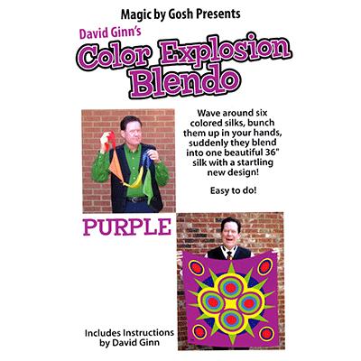 Color Explosion (36 inch - purple) Blendo Set - Trick