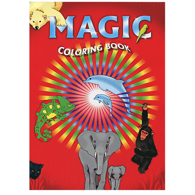 Magic Coloring Book by Vincenzo Di Fatta Magic - Trick