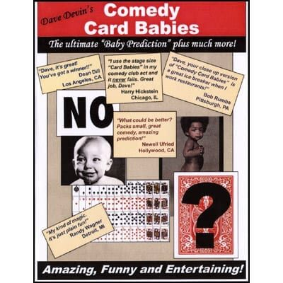 Comedy Card Babies (Small) by Dave Devin - Trick