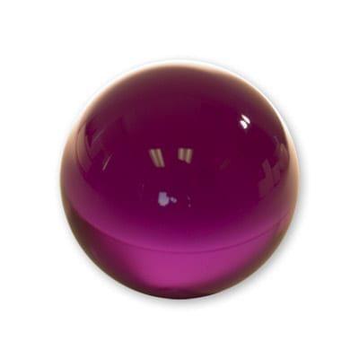 Contact Juggling Ball (Acrylic, PURPLE, 76mm) - Trick