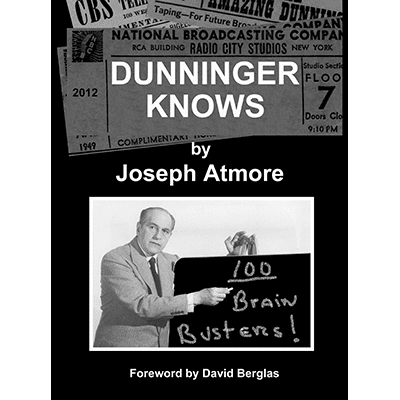 Dunninger Knows by Joseph Atmore - Book