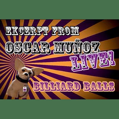 Billiard Balls  by Oscar Munoz (Excerpt from Oscar Munoz Live) video DOWNLOAD