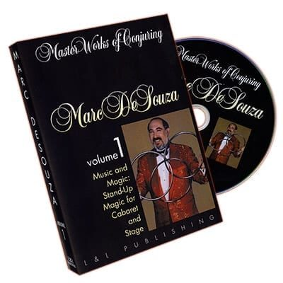 Master Works of Conjuring Vol. 1 by Marc DeSouza - DVD