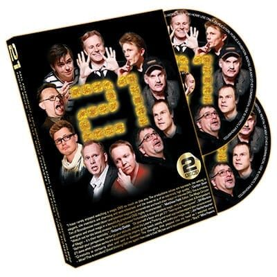 21 - Magic by Sweden (2 Disc Set) - DVD