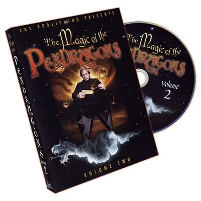 Magic of the Pendragons #2 by Charlotte and Jonathan Pendragon and L&L Publishing - DVD