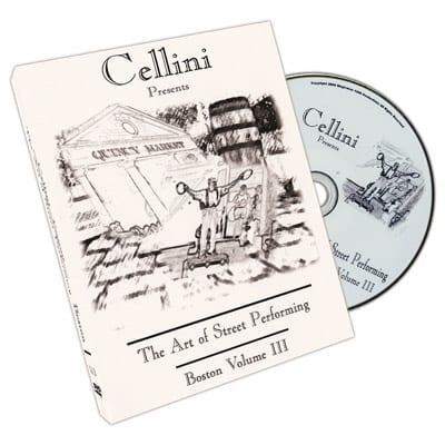 Cellini Art Of Street Performing Volume 3 - DVD