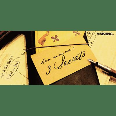 3 Secrets by Ken Niinuma and Vanishing, Inc. - DVD