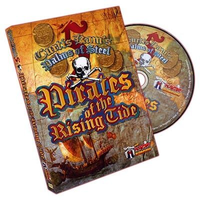 Palms of Steel 5: Pirates of the Rising Tide by Curtis Kam and The Magic Bakery - DVD