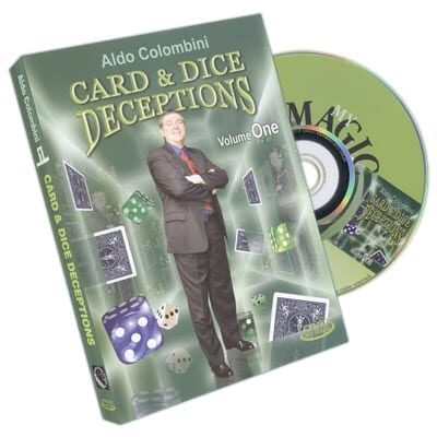 Card & Dice Deceptions Volume One by Aldo Colombini - DVD
