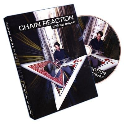 Chain Reaction by Andrew Mayne - DVD