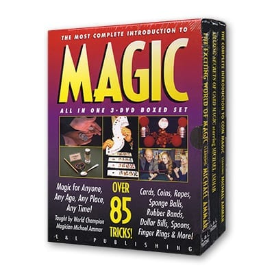 Ammar Trilogy (3 DVD Set) by Michael Ammar - DVD