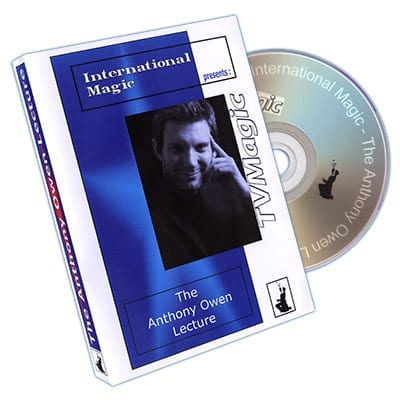 Anthony Owen Lecture by International Magic - DVD