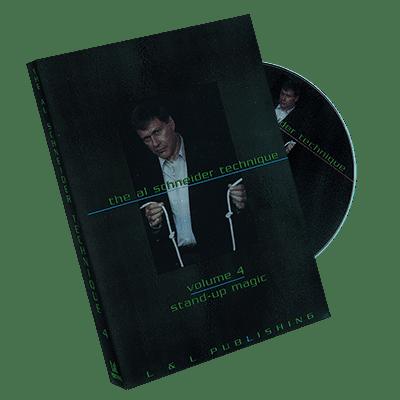 Al Schneider Stand Up #4, DVD