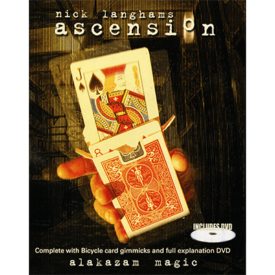 Ascension by Nick Langham and Alakazam (With Props) - DVD