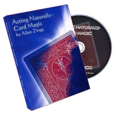 Acting - Naturally (Card Magic) by Allen Zingg - DVD