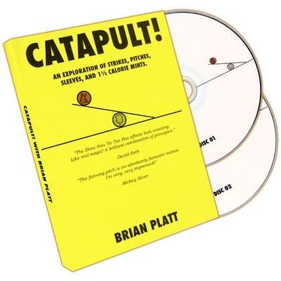 Catapult! (2 DVD set) by Brian Platt - Trick
