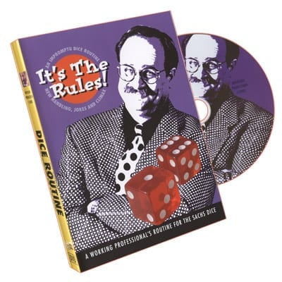 It's The Rules ( DICE ROUTINE ) by Bob Sheets - DVD