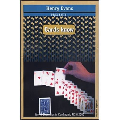 Cards Know (DVD and Props) by Henry Evans - DVD