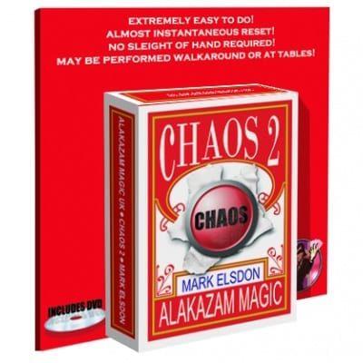 Chaos 2 w/DVD by Mark Elsdon & Alakazam Magic - DVD